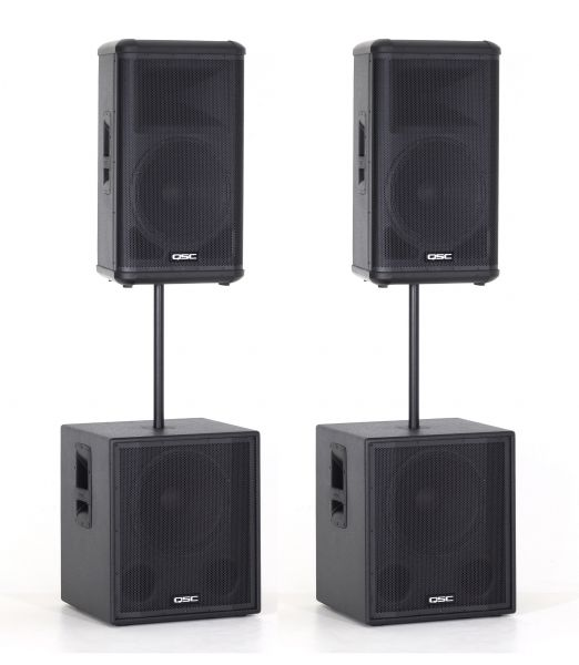 QSC combi set stereo