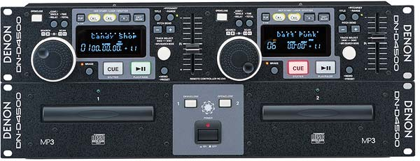 Dub cd player Denon DN-D4500