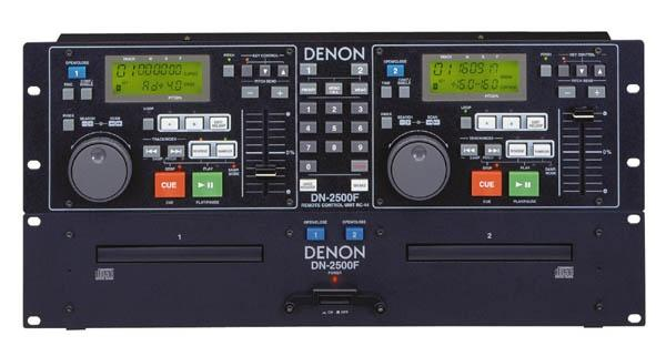 Dub cd player denon DH2500F